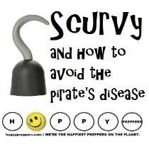 HOW PREPPERS CAN AVOID SCURVY: http://happypreppers.com/Scurvy.html