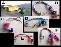 kumihimo style key lanyard you choose from picture by constersue