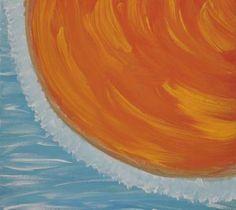 "Saatchi Art Artist ConnieAnn LaPointe; Painting, ""Sun and Wind"" #art"