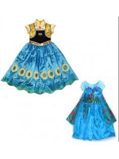 Frozen Fever Vestiti Carnevale Elsa Anna 789018-19