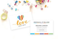 Rodan fields business card template rodan and fields pinterest rodan and fields business card digital file personalized fbccfo Choice Image