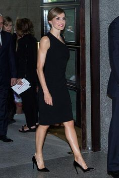 Queen Letizia of Spain attends the opening of the Royal Theatre new season on September 22, 2015 in Madrid, Spain.