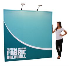 Fabric Displays are very popular at trade shows and other events. They make excellent backdrops and are very quick to setup and take down. The hopup tension fabric display is one such display that is available in different sizes and styles. http://www.torontodisplays.ca/products/show-displays/hopup-fabric-display/