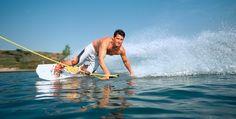 Wakeboarden auf dem Idasee in Idafehn Raum Oldenburg #Abenteuer #Boote #Bootsfahrt