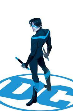 Nightwing_Rebirth_1Ha sido Robin, Batman, un espía, un fantasma. Ahora, Dick Grayson vuelve a Gotham City para recuperar la vida que fue tomado de él. Pero cuando un nuevo mal amenaza a los que más le gusta, Nightwing se enfrenta a ser arrancado de su casa una vez más con el fin de destruir la fuerza oscura de una vez por todas. casa de máquinas artista Yanick Paquette (BATMAN, cosa del pantano) se une a escritor de la serie Tim Seeley (Grayson, BATMAN Y ROBIN ETERNA) para volver a la etapa…