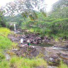 Peepee Falls In Hilo Hawaii On The Big Island
