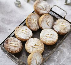 Get the kids involved with BBC Good Food food editor Barney's child-friendly chocolate mince pies Vegan Mince Pies, Mince Meat, Mini Desserts, Bbc Good Food Recipes, Pie Recipes, Pork Pie Recipe, Cake Song, Christmas Baking, Xmas Food