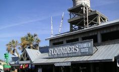 """pensacola beach restaurants - Bing Images  Flounders Restaurant """"Better to have floundered and lost than never to have floundered at all."""" Been there many times..great place!"""