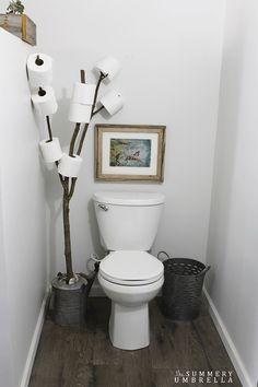 11. Toilet Paper Tree