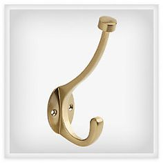 Beautifully simple gold Pilltop Hook from Liberty Hardware's Luxe Collection. Check out the rest of the collection for classic details you can add to your home for classic, glam , or contemporary touches in any room.