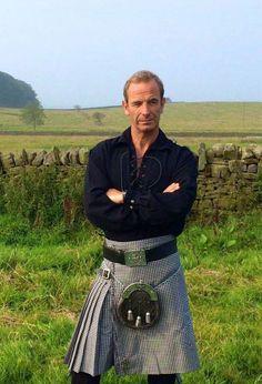 Robson Green wears Northumberland Tartan