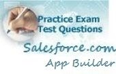 We have around 300  questions for practise on App Builder. This is other entry point into Salesforce Certification.