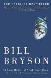 Another BIll Bryson gem - A Short History of Nearly Everything. It's pretty much the history of science, which makes it one of the geekiest books ever, and yet, because it was written by Bill Bryson, it's fun and awesome. Best Science Books, Science Fiction, Science Writing, Science Fun, Reading Lists, Book Lists, Teaching Reading, Bill Bryson, Mystery