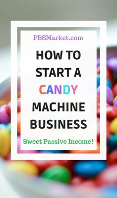 Take a look at how to start your own candy machine business, including where to buy candy vending machines, where to buy the candy and tips for finding good locations for your vending machines. Earn More Money, Ways To Earn Money, Make Money Blogging, Money Saving Tips, Way To Make Money, Earning Money, Blogging Ideas, Money Tips, Marble Machine