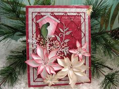 by Stamping with Bibiana: Christmas Eve is Here! using  Poppystamps - Memory box For My other handmade greeting cards visit me at  My English Personal blog: http://stampingwithbibiana.blogspot.com/
