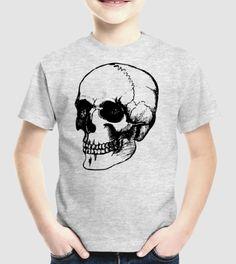 Gyermek rockerpóló koponya mintával Mens Tops, T Shirt, Fashion, Supreme T Shirt, Moda, Tee, Fashion Styles, T Shirts, Fasion