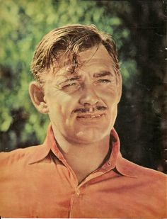 Remembering my Dad- he & Clark Gable could've been twins. Both handsome with dry humor and charm! Miss you Dad!