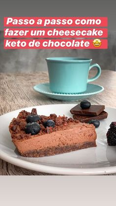 Stories • Instagram Keto, Paleo, Chocolate, Cheesecake, Pudding, Desserts, Instagram, Food, Step By Step