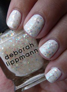 "White polish & Deborah Lippman's ""Stairway to Heaven"""