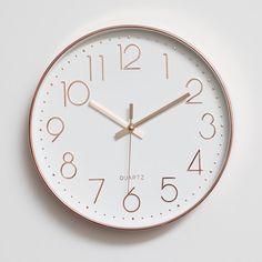 Rose Gold Wall Clock