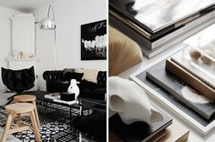 Timeless Black And White Apartment With Its Own Personality | DigsDigs