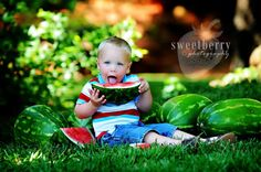 slice of summer {watermelon mini sessions}