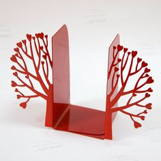 Books, trees, love!  Bookends.  :)