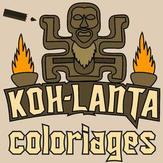 18 coloriages Koh Lanta inédits Totem Koh Lanta, Projects For Kids, Crafts For Kids, Cycle 3, Creative Crafts, Activities, Party, Fictional Characters, Minecraft