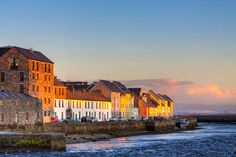 Sunset On A Beautiful Winter Day In Galway Ireland Poster by Mark Tisdale - Travel tips - Travel tour - travel ideas Cadiz, Barcelona, Hometown Heroes, Ireland Homes, Thing 1, Emerald Isle, Travel Tours, Travel Ideas, Winter Day