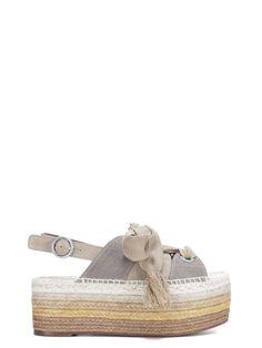 CHLOÉ | Chloé Chloé Chloé Stack Sole Espadrillas #Shoes #Flat Shoes #CHLOÉ