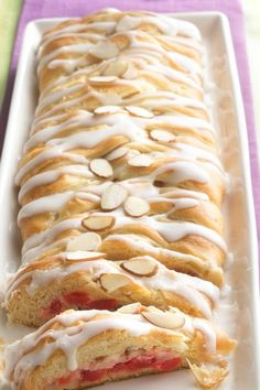Flaky and deliciously easy coffee braid is perfect for brunch!