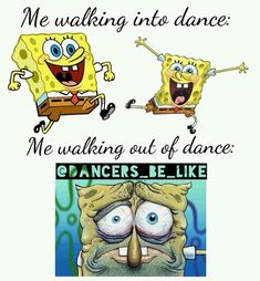 Dance meme..haha always exhausted afterwards!