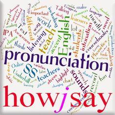 pronunciar inglés