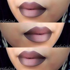 This shade of chocolate-y brown fading into mauve is oh so delectable.Image via Pinterest.