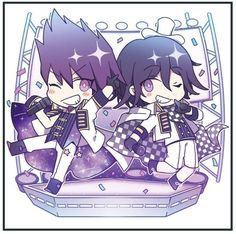 What if Momota and Ouma started a two-man pop group instead of working together in a convoluted plan that would get both of them killed?