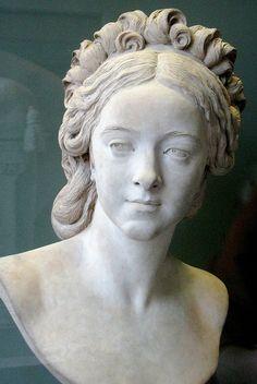 Augustin Pajou, Natalie de Laborde, 1789.