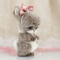 Lifelike toy Bunny