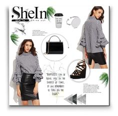 """""""SheIn"""" by evelynn-cole ❤ liked on Polyvore featuring Charlotte Russe, Blume, contestentry and shein"""