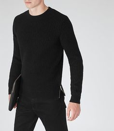 HUGO BOSS Boss Athleisure Ridney, Pull Homme, (Charcoal 010), X-Large