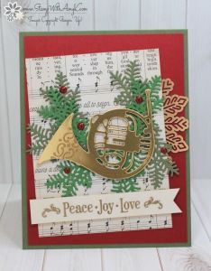 Stampin' Up! Musical Season Sneak Peek for Fab Friday – Stamp With Amy K