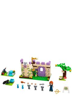 Lego Disney Princess Set Merida's Highland Games Complete! Lego Disney Princess, Highland Games, Lego Toys, Lego Duplo, Toys R Us, Lego Friends Sets, Lego Clones, Buy Lego, Lego Brick