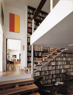 Oscar Niemeyer's LA house for Joseph and Anne Strick #bookshelf