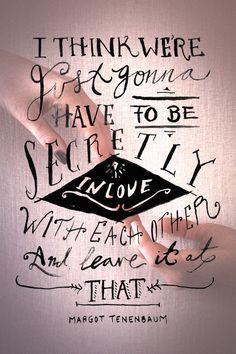 Monday Quote: Secretly In Love
