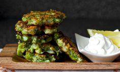 Brokolicové placičky s parmezánem