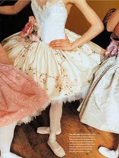 tutu de bailarina floral