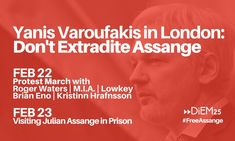 2020 Feb 22 & 23 LONDON Chelsea Manning, Roger Waters, London Places, Prison, Street