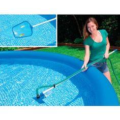Intex Pool Reinigungsset 58958  Kurzübersicht Ideal für den Easy Pool, Pool mit Stahlwandbecken, Quick up Pool und Planschbecken - leichte Handhabung
