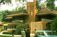 Frank Lloyd Wright--William Winslow House, River Forest, Illinois, 1893 [Tumblr]