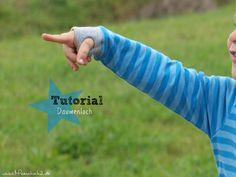 Daumenloch Tutorial aus Bündchen