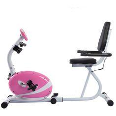 Sunny Health and Fitness P8400 Pink Magnetic Recumbent Bike #SunnyHealthFitness